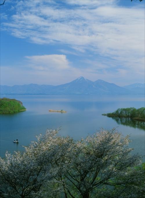 The Prize winner of 25th Photo Contest of Festivals and Sights of Koriyama City Odayakana mizuumi